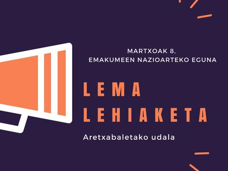 8 de marzo: concurso de lemas para el Día Internacional de las Mujeres