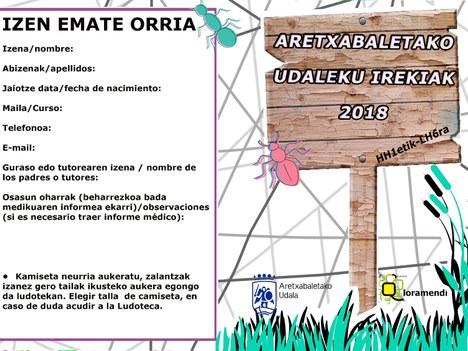 ABIERTO EL PLAZO DE INSCRIPCION PARA LOS UDALEKUS