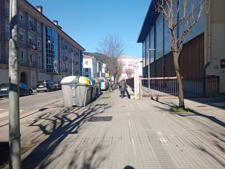 Adjudicas las obras del tramo de bidegorri de la calle Santakurtz