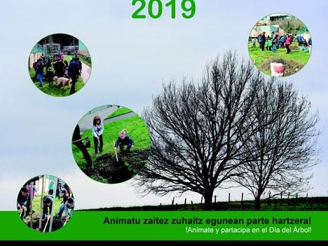 Aretxabaleta celebrará el 24 de febrero el Día del Árbol