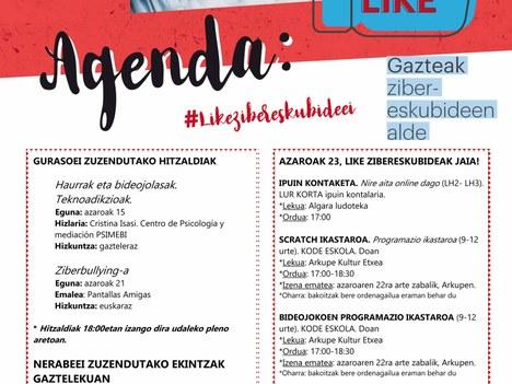 """Aretxabaleta se suma a la campaña """"Like a los ciberderechos"""""""