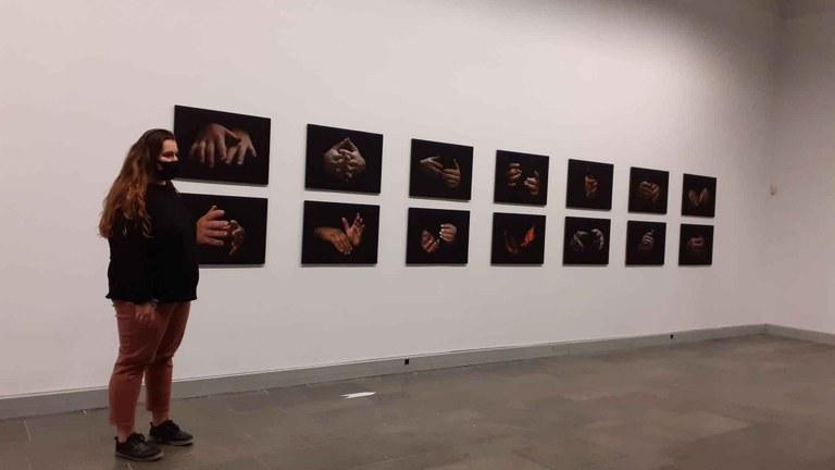 Arkupe acoge la exposición 'Eskuen hitzak' de Itzal Zubillaga