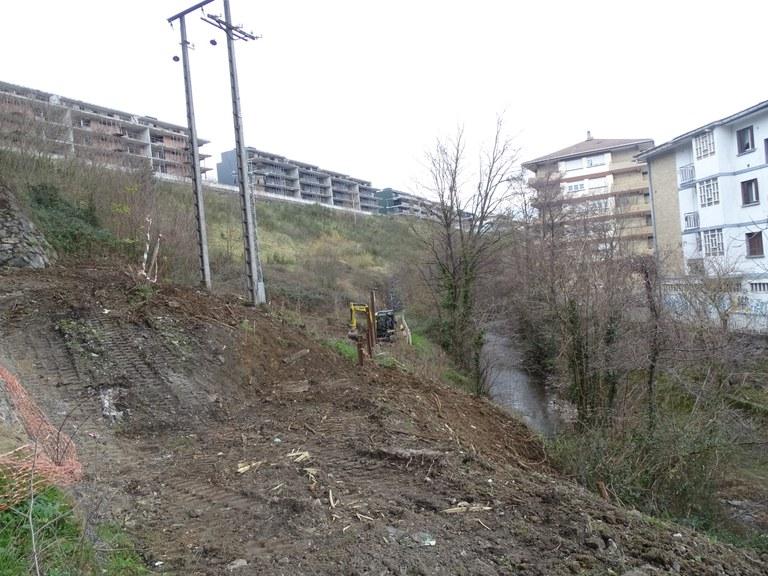 Arrancan las obras para concluir el paseo junto al río