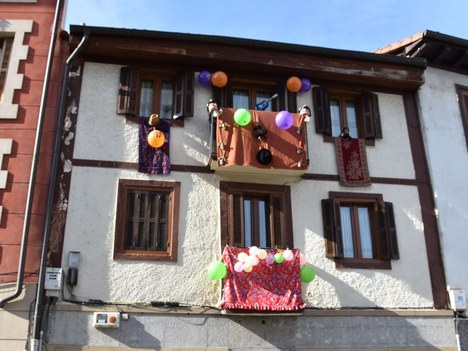 Este año se celebrará de nuevo el Concurso de Balcones por Carnaval