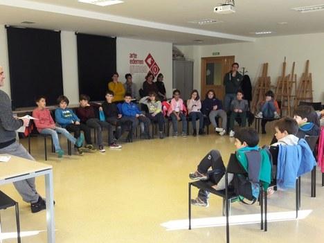 El alumnado de Aretxabaleta presenta diversas propuestas para mejorar el municipio en el marco de la Agenda 21 Escolar