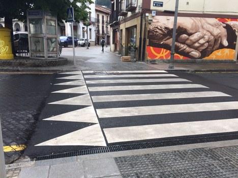 El ayuntamiento de Aretxabaleta está realizando diversos trabajos para mejorar la accesibilidad