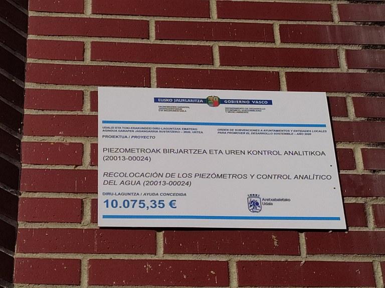 El Ayuntamiento instalará a partir de hoy piezómetros en la plaza Iralabarri para controlar la calidad del agua
