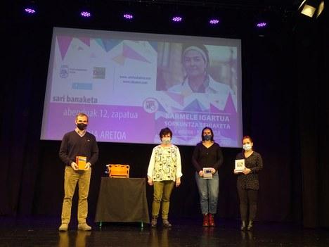 El navarro Juan José Pellejero gana la X edición de la beca de creación Karmele Igartua