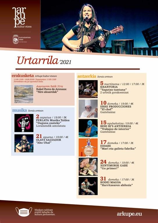 El teatro protagoniza la programación de enero en Arkupe