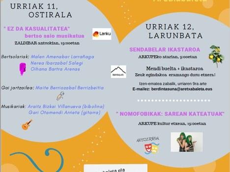 Encuentro de mujeres de Aretxabaleta y Eskoriatza