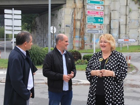 La Diputación Foral de Gipuzkoa remodelará la rotonda de Basabe