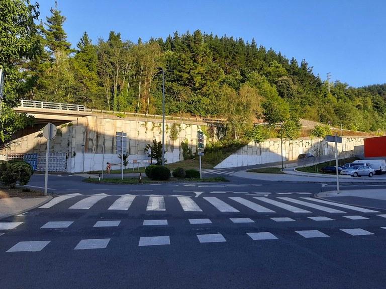Las obras de la nueva rotonda de Basabe comenzarán a finales de septiembre