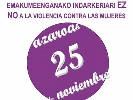 Mensaje del Ayuntamiento en el Día Internacional Contra la Violencia Hacia las Mujeres