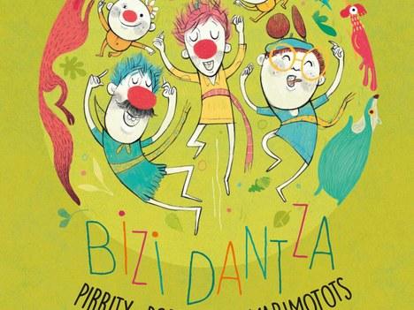 Pirritx, Porrotx eta Marimotots presentarán su trabajo 'Bizi Dantza' el 17 de julio en el polideportivo