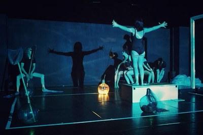 "Alanbike teatro: ""Sal marina"""