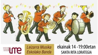 Concierto: Banda de Leizarra musika eskola