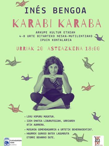 """Ines Bengoa: """"Karabi Karaba"""""""