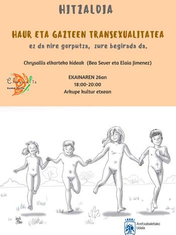 Transexualidad infantil y juvenil