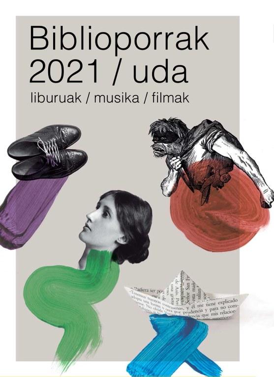 Atera da Biblioporrak irakurketa gida 2021