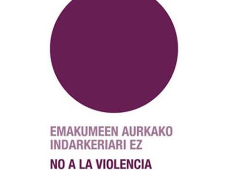 """Azaroaren 25eko adierazpen instituzionala: """"Emakumeen aurkako indarkeriaren kontrako nazioarteko eguna"""""""