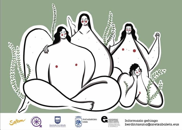 Elikadura subiranotasunari eta feminismoei buruzko topaketa, Etxaldeko Emakumeak taldearekin