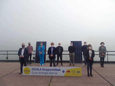 Leintz Bailarako Ekiola kooperatibak eguzki-parke fotovoltaiko bat instalatuko du Arrasaten