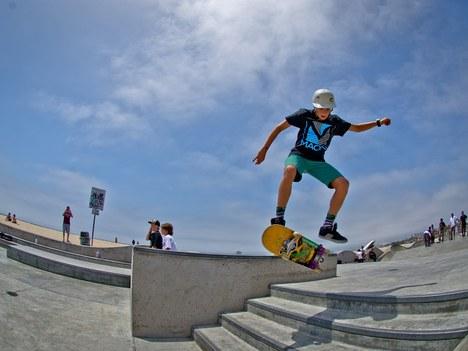 Skatepark-aren inaugurazioa