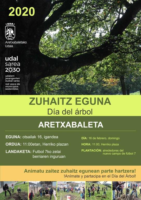 Zuhaitz eguna 2020