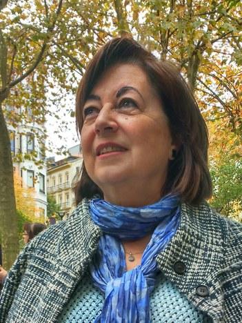 "Blanca Martinez Colinos: ""Urdinetik bioletara"""