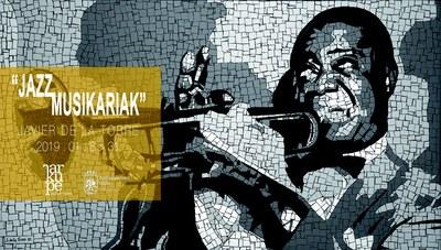 """Javier de la Torreren mosaikoak: """"Jazz musikariak"""""""