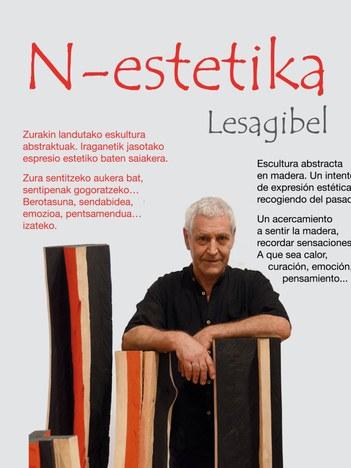 "Lesagibel eskultorea: ""N-Estetika"""