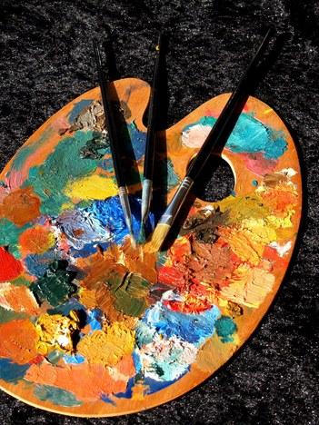 Pintura ikastaroko lanen erakusketa